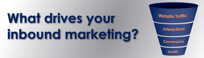 What drives your inbound marketing?